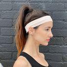 Runner Sweat Wicking Headband   Pink