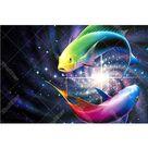 Color Fish 5D DIY Paint By Diamond Kit