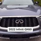 Luxury in the newly redesigned 2022 Infiniti QX60!
