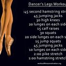 Dancer Leg Workouts