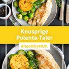 Polenta-Taler mit frischem Fisch (🌱 vegane Alternative) | HUK-COBURG