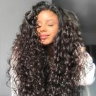ROLLS  ROYCE  LACE  Raw Indian curly wig - 40 INCHES