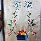 2020 Dumpster Fire  18th Century Pocket  Hand Embroidery | Etsy