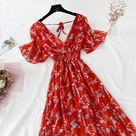 Cottagecore Dress / Aesthetic Cottagecore Clothing Dress