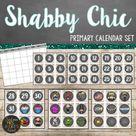 Shabby Chic Farmhouse Calendar Set