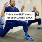 Lower back pain and hip opening