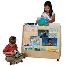 Double Sided Book Display, Mobile Book Display, Book Storage for Kids, Book Rack
