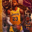 LeBron James   Los Angeles Lakers Poster