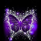 Images By Ana On Feest | Purple Butterfly Wallpaper