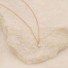 Sweet Droplet 14k Gold & Diamond Necklace