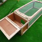 5' X 2' Guinea Pig/rabbit Run With Hut Shelter for sale online | eBay