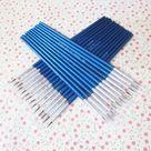 10Pcs/Set Fine  Paint Brush Art Supplies - number 000