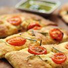 Biberiyeli Domatesli İtalyan Ekmeği – Focaccia – Mutfak Sırları –  Pratik Yemek Tarifleri