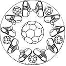 Fußballmandalas im kidsweb.de