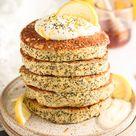 Lemon Poppyseed Ricotta Pancakes - Lala's Kitchen Table