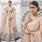 Peach Lehenga Choli for Women Ready To Wear Custom Size, Designer Silk Mirror Work Indian Bridesmaid and Bridal Wedding Dress, USA UK Canada
