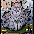 Custom MTG Cat Token by Samuel Alexander