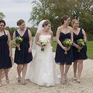 Navy Green Weddings