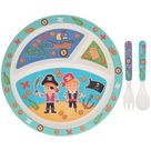 Pirate Eco Eating Boys Girls Birthday   Someone Special, Best Friend, Family. One Of A Kind, For Him, For Her