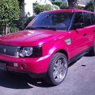 Pink Range Rovers