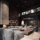 Eleganz auf männliche Art – diese Wohnzimmer sind typisch maskulin - Fresh Ideen für das Interieur, Dekoration und Landschaft
