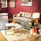 Wohnzimmer Inspiration Scandinavian Glamour Stylemix