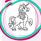 Unicorn Coloring Pages I Worksheets for Kids I Summer Activities