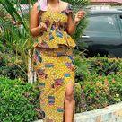 Amazing Skirt and Blouse Styles You Should See - Stylish Naija