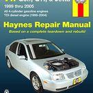 Volkswagen VW Golf, GTI, & Jetta (1999-2005)& TDI diesel (1999-2004) Haynes Repa - Default