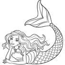 Schattige zeemeermin