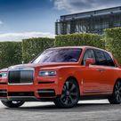 HD wallpaper: Rolls Royce, Rolls-Royce Cullinan, Car, Luxury Car, Red Car