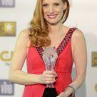 Jessica Chastain - 2013 Critics' Choice Movie Awards - Red Carpet Fashion Awards