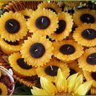 Sunflower Table Centerpieces