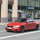 2015 BMW M4 Coupe Sakhir Orange   Spotted Again
