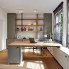 11 idées d'aménagement d'un bureau devant la fenêtre