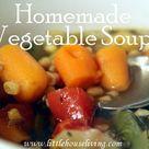 Homemade Vegetable Soups