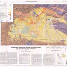 Map  Quaternary Geology of the San Fernando Valley, Los Angeles Count   Historic Pictoric