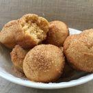 Peanut Butter Doughnut Holes - Healthy Donut recipe!