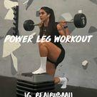 @HealthLifeFitness | Power Leg Workout
