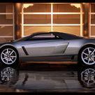 Cadillac Cien Concept 2002 Poster. ID510937