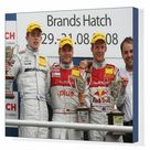 Box Canvas Print. DTM Championship 2008, Round 8, Brands Hatch,