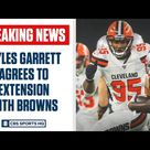BREAKING: Myles Garrett agrees to deal with Browns worth $125 Million | CBS Sports HQ