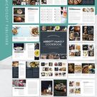 Recipe Template & Cookbook Template for Microsoft Publisher | Instant Printable Download | Editable