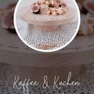 Kaffee & Kuchen mit Eulenschnitt | Kuchenplatte aus Holz | Gedeckter Tisch zum Geburtstag