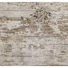 Bodenfliese Dakota White Feinsteinzeug Weiß Matt 15 cm x 90 cm