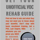 #1 Unofficial Guide – Get Smart On Your VA Chapter 31 Voc Rehab Claim