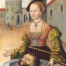 Lucas Cranach the Elder 1472 1553   Salome with the Head of St John the Baptist