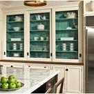 Glass Kitchen Cabinets