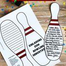Einladung Bowling-Pin