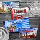 Surprise London Trip Ticket | England Vacation Tickets Instant Download | Boarding Pass | Printable Trip Ticket Surprise | Trip Reveal
